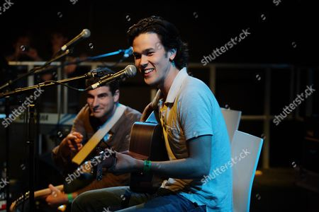 Justin Nozuka in concert at the Freedom Studio at the Roundhouse in Chalk Farm, London