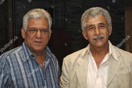 Om Puri and Naseeruddin Shah