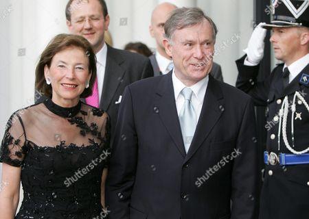 Editorial photo of Luxembourg Inauguration - Jun 2005