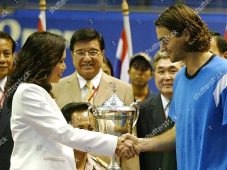 Editorial picture of Thailand Tennis - Oct 2004