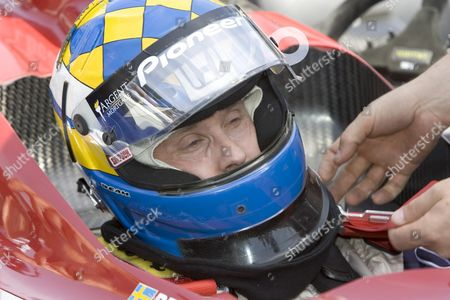 Kenny Brack of Sweden is Buckled Into His Car Prior to Brack's First Practice Session in 2005 at the Indianapolis Motor Speedway in Indianapolis Indiana Wednesday 18 May 2005 Brack Who Was Seriously Injured in a Horrific Crash in the Indy Racing League in 2003 Will Race in the 89th Indianapolis 500 This Month Replacing Defending Champion Us Buddy Rice