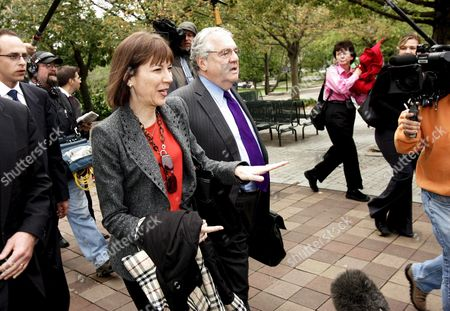 New York Times Reporter Judith Miller (l) and Her Attorney Bob Bennett Leave the Federal Courthouse in Washington Dc Wednesday 12 October 2005 Miller Testified For a Second Time to a Federal Grand Jury Today a Day After She Turned Over Notes From Her June 23 2003 Contact with i Lewis 'Scooter' Libby