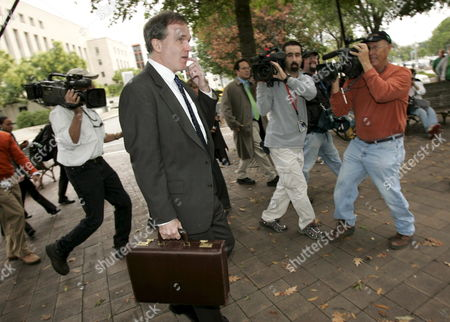 U S Federal Prosecutor Patrick Fitzgerald Leaves the Federal Courthouse in Washington Dc Wednesday 12 October 2005 Fitzgerald Questioned New York Times Reporter Judith Miller For a Second Time Before a Federal Grand Jury Today a Day After She Turned Over Notes From Her 23 June 2003 Contact with i Lewis 'Scooter' Libby Who is Vice President Cheney's Chief of Staff