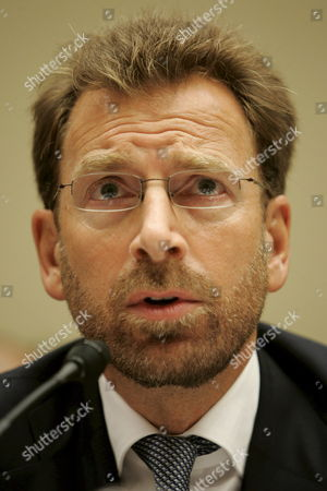 Stock Image of Edgar Bronfman Jr President and Ceo of Warner Music Group Testifies Before a House Subcommittee Hearing On 'Media Stereotypes and Degrading Images' On Capitol Hill in Washington D C Usa On 25 September 2007 the Inquiry Was Inspired in Part by the Firing of Radio Personality Don Imus Over Racially Insensitive Remarks Directed at African American Women On the Rutgers University Basketball Team