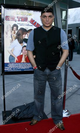 Us Actor/director Michael Delorenzo Arrives For the Film Premiere of National Lampoon's 'One Two Many' in Los Angeles California Usa 10 April 2008 'One Two Many' is the Story of One Man's Quest to Find the Perfect Girlfriend a Girlfriend Who Will Make His Dream of Having a Threesome Come True