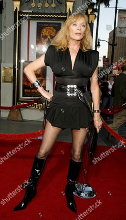 Austrian Actress Sybil Danning Arrives For the 'Halloween' Film Premiere in Hollywood California Usa 23 August 2007