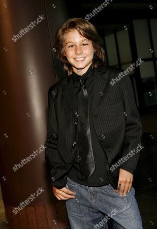 Us Actor Dominic Scott Kay Arrives For 'The Dukes' Film Premiere in Los Angeles California Usa 27 August 2007