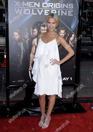 Australian Actress and Cast Member Tahyna Tozzi Arrives For a Screening of 'X-men Origins: Wolverine' in Los Angeles California Usa 28 April 2009 Tozzi Plays Emma in 'X-men Origins: Wolverine' Which is the First Chapter in the X-men Saga