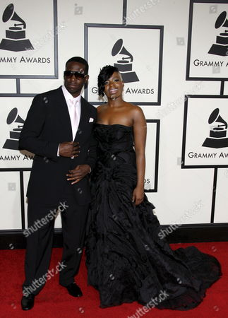 Us Singers Fantasia and Young Dro Arrive On the Red Carpet During the 50th Annual Grammy Awards at the Staples Center in Los Angeles California Usa 10 February 2008