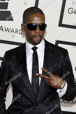 Us Gospel Singer Donald Lawrence Arrives On the Red Carpet During the 50th Annual Grammy Awards at the Staples Center in Los Angeles California Usa 10 February 2008