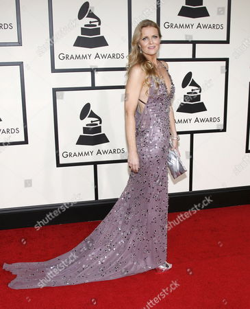 Jazz Singer Tierney Sutton Arrives On the Red Carpet During the 50th Annual Grammy Awards at the Staples Center in Los Angeles California Usa 10 February 2008