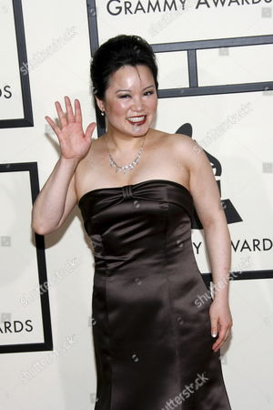 Chinese-american Classical Musician Angelin Chang Arrives On the Red Carpet During the 50th Annual Grammy Awards at the Staples Center in Los Angeles California Usa 10 February 2008