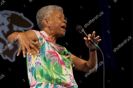 New Orleans Born Jazz Singer and Educator Germaine Bazzle Performs at the New Orleans Fair Grounds Race Course in New Orleans Louisiana Usa 26 April 2009 Jazzfest Celebrates It's 40th Anniversary This Year with 12 Different Stages in an Annual 7-day Cultural Event That Encompasses Every Style Associated with the City of New Orleans Including Jazz Gospel Cajun Zydeco Blues Rhythm and Blues Rock Funk African Latin Caribbean Folk and Much More in Addition to Local Cuisine Arts and Crafts