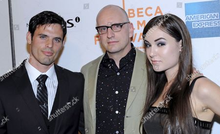 Us Actor's Sasha Grey (r) Chris Santos (l) and Us Film Director Steven Soderbergh Attend the Premiere of 'The Girlfriend Experience' at the 2009 Tribeca Film Festival in New York Usa 28 April 2009