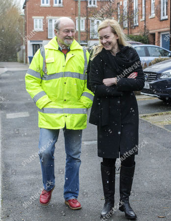 Editorial image of Nicola Blackwood oversees new flooding pump, Oxford, UK - 13 Jan 2017