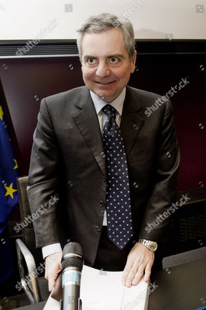 Stock Image of Vice-President of EIB European Investment Bank Dario Scannapieco