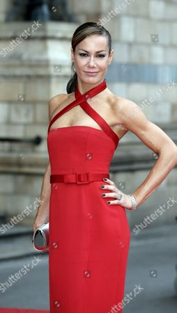 Celebrity Tara Palmer-tompkinson Arrives at Entrepreneur John Caudwell's Bedrock Ball in Aid of Sick Children at the National History Museum in London 18 May 2007