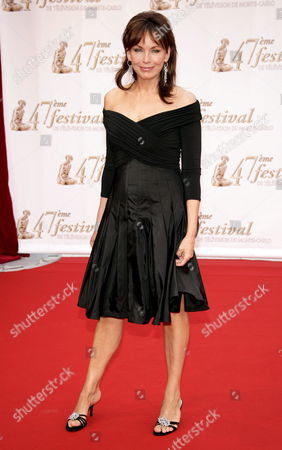 U S Actress Lesley Anne Down Poses During the Opening Night of the 47th Monte Carlo Television Festival at the Grimaldi Forum in Monaco 10 June 2007