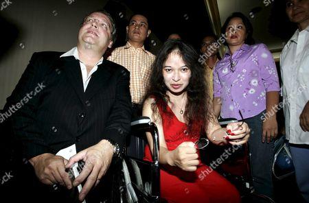 Editorial photo of Philippines Filipino Australian Deportaion - May 2005