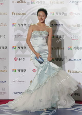 South Korean Actress Han Ye-seul Arrives For the 29th Blue Dragon Film Awards at the Youido Kbs Hall On 20 November 2008 in Seoul South Korea