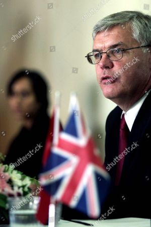David Swift Deputy Chief Constable Stafford Police During Security Meeting For the Turkey V Endland Euro 2004 Qualification Match in Istanbul Saturday 11 October 2003