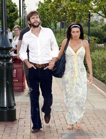 Alison King and boyfriend Adam Huckett.