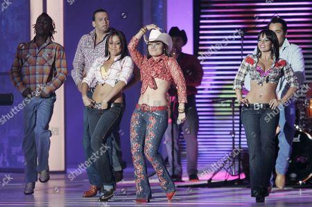 Diana Reyes Performs at the 2007 Billboard Latin Music Awards at the Bank United Center Coral Gables Florida 26 April 2007