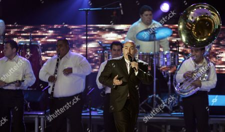 Lupillo Rivera Performs at the 2007 Billboard Latin Music Awards at the Bank United Center Coral Gables Florida 26 April 2007