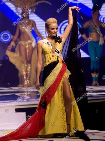 Editorial photo of Vietnam Miss Universe - Jun 2008