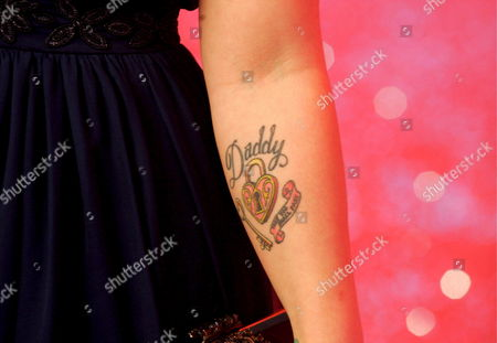 A Detail of the Arm of British Recording Artist Kelly Osborne Daughter of Legendary Rocker Ozzy Osborne As She Arrives at the 'Greatest Britons' Awards Ceremony at the Itv Studios in London Britain 21 May 2007