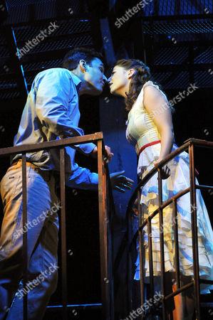 Tony-Ryan Silverma and Maria-Sofia Escobar