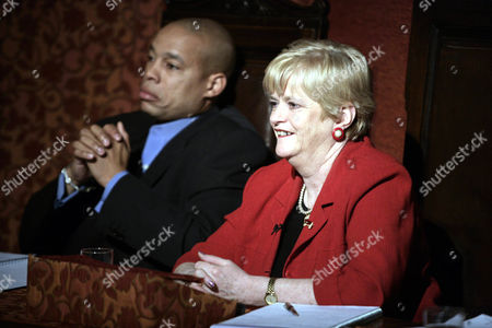 Stock Photo of 'Celebrity Fit Club' TV - 2005 - Harvey Walden and Ann Widdecombe.