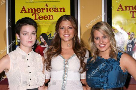 Hannah Bailey, Hilary Cruz and Megan Krizmanich