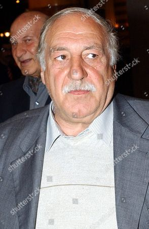 Ahmad Jebril the Head of the Popular Front For the Liberation of Palestine - General Command Before His Meeting Palestinian Interim Leader Mahmoud Abbas in Damascus On Monday 06 December 2004