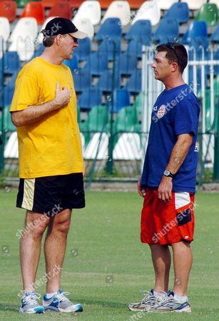 Editorial picture of Pakistan Australia Cricket Coach - Aug 2007