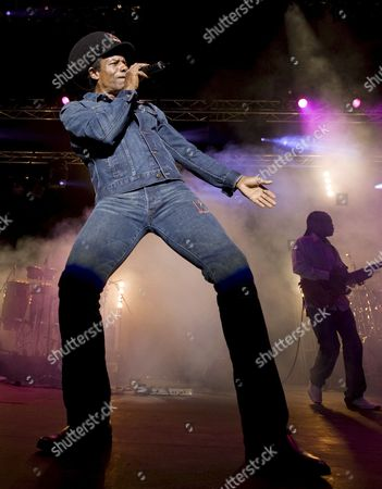 British Reggae Musician Eddy Grant Performs in Cape Town South Africa 26 February 2009 Born in Guyana in 1948 Eddy Grant is On a Nationwide South African Tour Part of His Worldwide 'Reparation' Tour