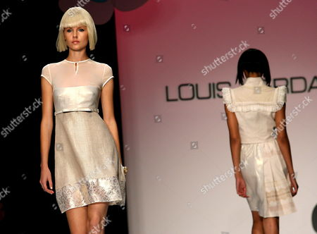 Models Wear Creations of the Louis Verdad Spring 2007 Collection During the Mercedes-benz Fashion Week in Culver City Los Angeles California On Sunday 15 October 2006