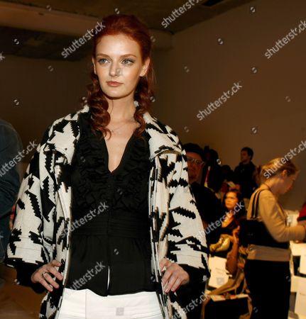Editorial photo of Usa Fashion Week Los Angeles - Mar 2007