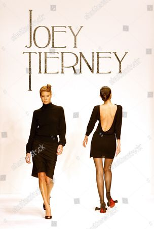 Models Wearing the 2007 Joey Tierney Collection Walk the Catwalk During Fashion Week in Los Angeles California Tuesday 20 March 2007