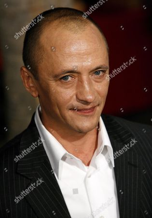 Stock Picture of Russian Actor Ravil Isyanov Arrives For the Premiere of the Film 'The Good German' at the Egyptian Theater in Hollywood California Monday 04 December 2006