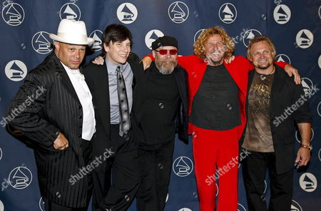 (l-r) Us Music Producer 'Narada' Michael Walden Us Musician Eric Martin Formerly of the Band Mr Big Us Musician Ronnie Montrose Us Musician Sammy Hagar and Us Musician Michael Anthony During the San Francisco Chapter of the Recording Academy Honors in San Francisco 29 April 2007
