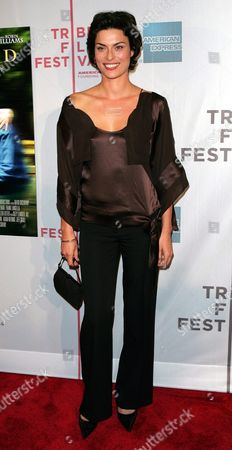 Stock Image of Us Actress Magali Amadei Arrives For the Premiere of the Film 'House of D' at the Tribeca Film Festival in New York City Friday 07 May 2004 Amadei Stars in the Film Directed by David Duchovny