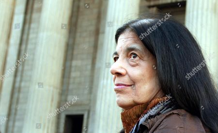 New York-based Intellectual Novelist Cultural Philosopher and Activist Susan Sontag is Photographed Ahead of the Inaugural Nadine Gordimer Lecture in the Great Hall of the University of the Wiwatersrand in Johannesburg South Africa Wednesday 10 March 2004