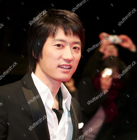 South Korean Actor Kim Myung-min Who Appeared in the Mbc Drama 'Beethoven Virus' Arrives For the 45th Annual Baeksang Art Awards at Olympic Park Olympic Hall in Seoul South Korea 27 February 2009