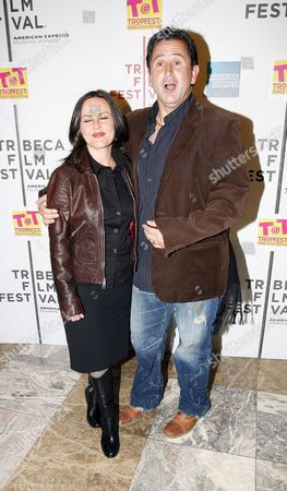 Australian Actor Anthony La Paglia and Wife Gia Carides Arrive to the Tropfest at Tribeca Short Film Competition Shown at the Tribeca Drive-in Premiere at the 2006 Tribeca Film Festival in New York Friday 28 April 2006