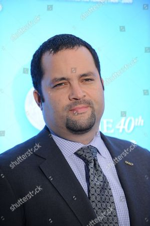 Naacp Chairman and Ceo Benjamin Jealous Arrives at the 40th Naacp Image Award Luncheon at the Beverly Hills Hotel in Beverly Hills California Usa 07 February 2009
