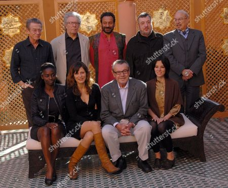 Jury Members of the 7th Marrakesh International Film Festival Pose For a Photo On the Second Day of the Festival in Marrakesh Morocco 08 December 2007 (front Row L-r); French Actress of Senegalese-malian Origin Aissa Maiga Spanish Actress Aitana Sanchez-gijon Czech-born Filmmaker and President of the Jury Milos Forman and Actress Parker Posey (back Row L-r); British Actor John Hurt Us-french Director Claude Miller Indian Director and Actor Shekhar Kapur Russian Director Pavel Lounguine and Moroccan Director Hamid Benani the Festival Runs Through December 07-15 Focusing This Year On New Films From Eastern Europe and Asia