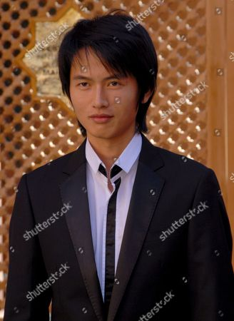 Chinese Actor Lu Yulai Poses For a Photo During the Seventh Marrakesh Film Festival in Morocco 08 December 2007 the Festival Runs Through December 07-15 Focusing This Year On New Films From Eastern Europe and Asia
