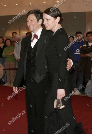 K D Lang (l) and Jamie Price Arrive at the 28th Annual Kennedy Center Honors in Washington Dc Sunday 04 December 2005 Recipients to Be Honored at the 28th Annual National Celebration of the Arts Are: Singer Tony Bennett; Dancer and Teacher Suzanne Farrell; Actress Julie Harris; Actor Director and Producer Robert Redford; and Singer Tina Turner