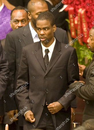 Us Actor and Comedian Chris Rock Arrives For the Memorial Service For Us Actor and Comedian Bernie Mac at the House of Hope Church in Chicago Illinois Usa 16 August 2008 Mac 50 Died in a Chicago Hospital On 09 August From Complications Due to Pneumonia